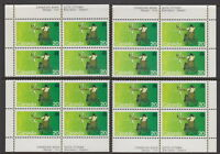 CANADA #694 20¢ Handicapped Olympics Match Set Plate Blocks MNH