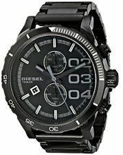 Diesel DZ4326 Chronograph Black Dial Black Steel Bracelet Men's Watch