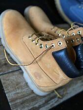 Men's Timberland Boots 6 Inch Premium Waterproof Wheat Size 9 U.S