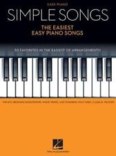 Simple Songs - The Easiest Easy Piano Songs (Hal Leonard)