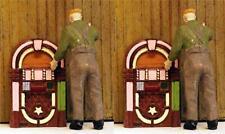 Jukeboxes vintage N scale Diner-vending details N Scale 2 included 1/160 scale