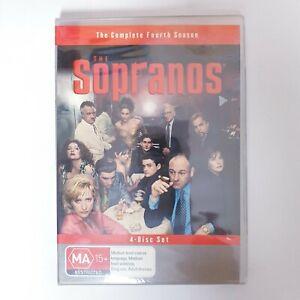 The Sopranos Season 4 DVD TV Series Region 4 AUS Free Postage - Crime Drama