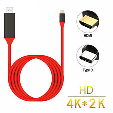 2M MHL USB-C Type-C 3.1 HDMI 4K HDTV Adapter Cable for Samsung/LG/HUAWEI Laptop