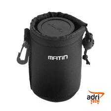 Custodia obiettivo borsa neoprene universale MATIN - misura S - 8cm x 10cm