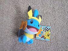 Pokemon Center - Japanese Carnival Pikachu Mudkip Plush/Soft Toy Keychain Rare