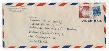 1959 JAPAN Air Mail Cover HONGŌ to BERLIN GERMANY Tokyo University