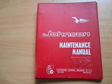 Werkstatthandbuch Johnson Außenborder 1,5 PS (1964/69)
