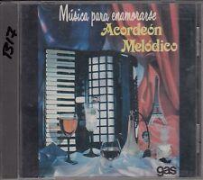 Acordeon Melodico Musica Para Enamorarse CD New Sealed