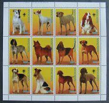 Azerbaydjan (Russia local post)-Dogs-1 M/Sh.1998.MNH**PP636