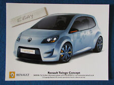 "Original press promo photo - 8""x6"" - RENAULT-Twingo Concept - 2006"