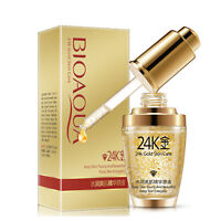 24K Gold Collagen Essence Skin Care Anti Aging Wrinkles Liquid Serum Face Cream