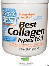 Doctor's Best,1 ^ 3 Collagen 200g Powder UK Freepost Synergy