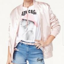 Lady Gaga Joanne Tour Blush Pink Bomber Jacket
