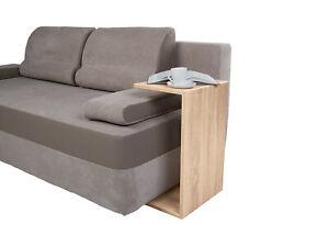 Sofa, bed side table in oak sonoma colours, Scandinavian design !