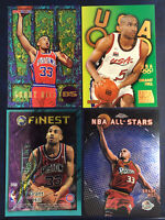Grant Hill 1995-96 1997 4 Card Lot Inserts Pistons Hall of Fame Huge deals Fines