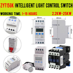 220V ZYT15GK Time Switch Time Delay Relay Multifunction Timer Relay & Contactor