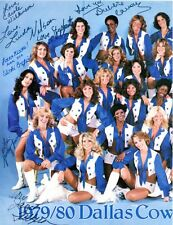 1979 DALLAS COWBOY CHEERLEADERS: NFL Legends Color Pic Autographed