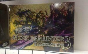 Capcom Monster Hunter Illustrations 3 Art Book HARDCOVER – 2020 New & Sealed