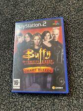 Buffy The Vampire Slayer Chaos Bleeds  Playstation 2 ps2  ( PAL) GC