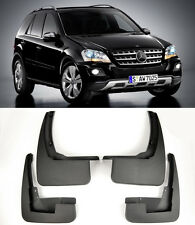 OE Front Rear 4Pcs Splash Mud Guards Flaps For 08-11 Mercedes ML350 320 500 W164
