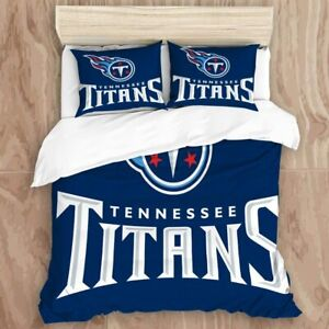 Tennessee Titans Bedding Set 3PCS Duvet Cover Pillowcase Comforter Cover US Size