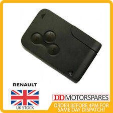 3 Button Key Remote Card for Renault Megane Scenic & Clio 2002-2008 Brand New