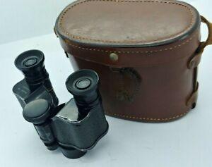 Vintage Antique KANANGRA 8x20 Binoculars w/case MADE IN FRANCE
