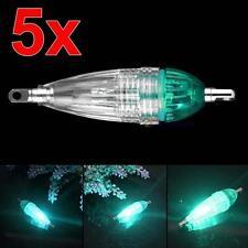 5X LEX profonde Goutte sous-marins Squid pêche Lure lumière verte clignotante FP