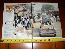 1998 LAND ROVER DISCOVERY - TACKLES INDIA - ORIGINAL ARTICLE