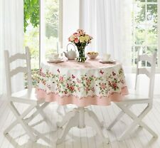 Rose Decorative Printed with roses Round or Rectangle Tablecloth
