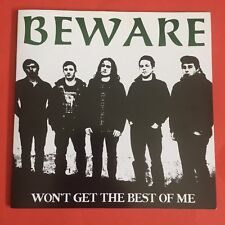 "BEWARE Won't Get the Best of Me  RE BTB 006 45rpm  7""  Vinyl & PS VG++"