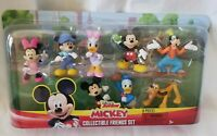 NEW Disney Junior Mickey Mouse Friends Collectible Figure Set 8 Piece Characters