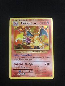 Pokemon Charizard XY Evolutions 2016 Holo Rare Card 11/108