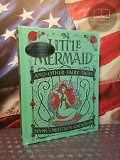 New Sealed Little Mermaid & Other Andersen Bonded Leather Collectible Hardcover