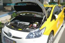 09-15 Toyota Prius XW30 Black Strut Gas Lift Hood Shock Stainless Damper Kit