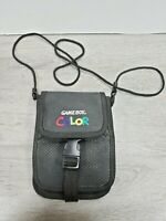 VTG GAME BOY COLOR BLACK CARRYING CASE TRAVEL BAG WITH STRAP NINTENDO