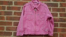 Vintage Sparkly Pink Barbie Jacket age 6 - 7 years