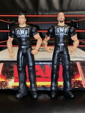 WWE wrestling figures THE OUTSIDERS KEVIN NASH & SCOTT HALL NWO mattel WCW RARE