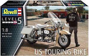 Revell 07937 Kit US Touring Bike 1:8