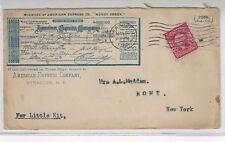 1908, Syracuse NY Advertising, American Express Company, Money Order