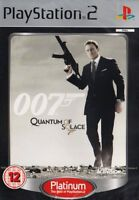 James Bond 007 Quantum of Solace PS2 PlayStation 2 PAL Brand New