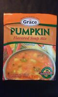 Grace Pumpkin Flavored Soup Mix (1.59 oz) USA SELLER) Fast Ship, Sopa Calababaza