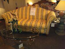 Exclusives Landhaus-Sofa, 200 cm, hochwertiger Möbelstoff,auch Rücken