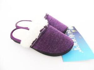 Isotoner Clog Slippers - Majestic Purple - Size 6.5 to 7
