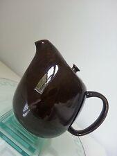 Russel Wright American modern,Steubenville,coffeepot,black chutney,mint