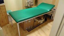 Behandlungsliege, Praxisliege, Massageliege, grün, gut erhalten