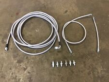 Stainless Main Rear Brake Line Replacement Kit For 99-07 Ford F250 / F350