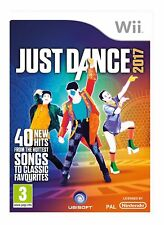 Just Dance 2017 Nintendo Wii PAL UK BRAND NEW SEALED