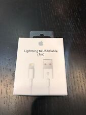 OEM Apple IPhone X USB Lightning to USB Charger Data Cable Cord for 3ft SEALED
