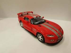 Dodge Viper GTS-R red kinsmart TOY model 1/36 scale diecast Car gift open doors